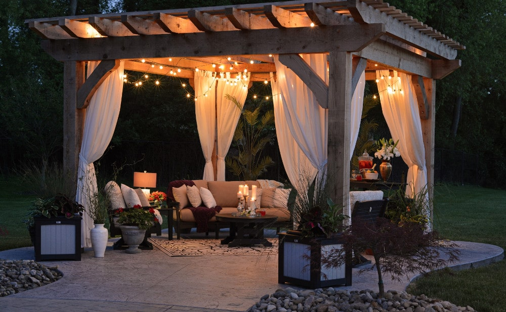 Covers and patio furniture